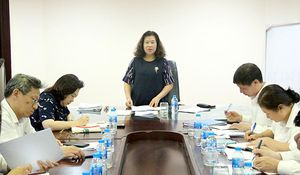 Vụ Hợp tác quốc tế TANDTC tổ chức Hội nghị sơ kết công tác 6 tháng đầu năm 2019