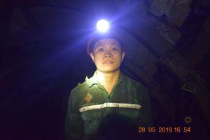 'Người thợ mỏ - Người chiến sĩ' ở than Dương Huy