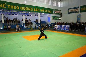 Hơn 120 võ sinh tranh tài giải võ cổ truyền TP. Nha Trang