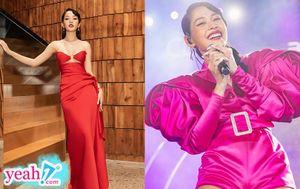 Chi Pu biến hóa 2 phong cách khác nhau khi chạy 2 show liên tiếp trong một buổi tối