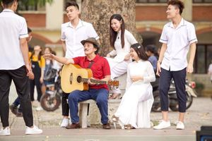 Nghệ sĩ Giang còi lần đầu làm phim về tệ nạn học đường