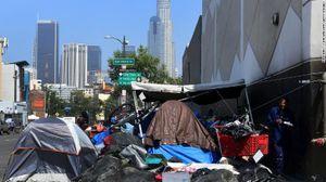 Người vô gia cư ở Los Angeles tăng mạnh khiến chính quyền sửng sốt
