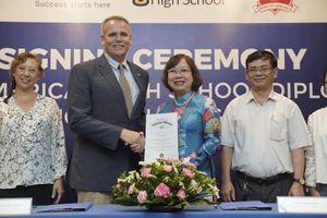 Học sinh có thêm cơ hội nhận bằng THPT Quốc tế Mỹ tại Việt Nam