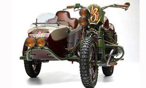Ngắm Sidecar 3 bánh Ural phong cách steampunk 'kịch độc'