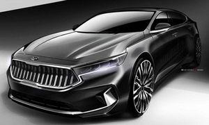 Kia 'nhá hàng' xe sang K7 2020 trước ngày ra mắt