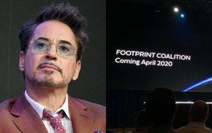 Kết thúc tại MCU, Robert Downey Jr. tiếp tục làm 'Người Sắt' để bảo vệ môi trường