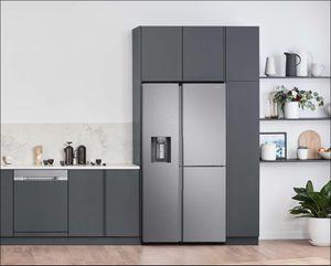 Tủ lạnh Samsung Side by Side RS5000: Thiết kế tối giản, không gian lưu trữ rộng