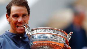 Vô địch Roland Garros thứ 12, Nadal áp sát Federer