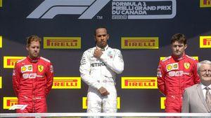Vettel bị phạt, Hamilton thắng chặng Canada