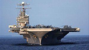 Lý do mẫu hạm Mỹ 'ngại' tiến vào Vịnh Ba Tư