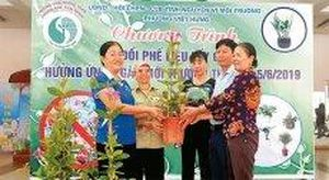 Phụ nữ Thủ đô tích cực chống rác thải nhựa