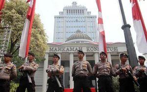 32.000 nhân viên an ninh bảo vệ phiên tòa về gian lận bầu cử Indonesia