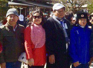Chủ tịch huyện nói lý do có mặt trong hình chụp với Trịnh Sướng ở Nhật