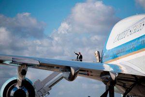 Tổng thống Trump tiết lộ diện mạo mới của Không lực Một