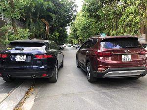 Xôn xao hình ảnh hai ô tô chung biển số 37A-566.99 'đụng hàng' trên phố Nghệ An