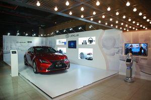 Trưng bày siêu xe Lexus xuất hiện trong phim bom tấn MIB Đặc vụ Áo đen: Sứ mệnh toàn cầu