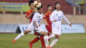 Giải bóng đá nữ VĐQG 2019: Hà Nội vs TP.HCM I bất phân thắng bại