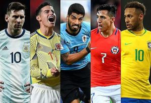 Copa America 2019: Thua Colombia, Argentina nguy cơ bị loại sớm
