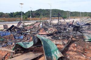 Tin mới vụ nổ phuy xăng ở dự án sân golf Cam Ranh làm 2 người chết
