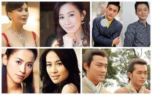 Các diễn viên TVB nổi tiếng có ngoại hình giống nhau