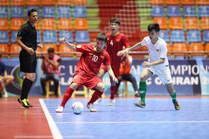Thua Indonesia 5-7, U20 futsal Việt Nam dừng bước ở tứ kết