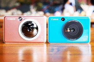 Canon ra mắt máy ảnh chụp xong in liền