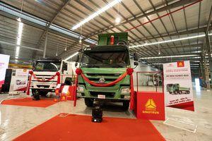 Dòng xe tải hạng nặng Howo-Sinotruk vừa chính thức được Daehan Motor ra mắt tại Việt Nam