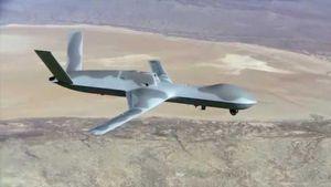 Lộ diện khoảnh khắc tên lửa Iran 'bắn nổ tung' UAV của Mỹ