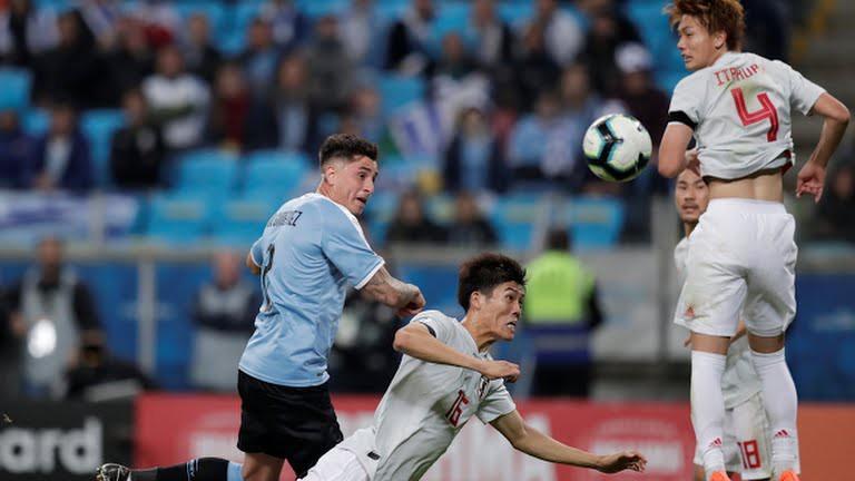 Copa America: 2 lần ghi bàn dẫn trước, Nhật Bản vẫn bị Uruguay cầm hòa