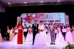 VNPT đồng hành cùng chương trình 'Lễ cưới tập thể công nhân lao động năm 2019' tại Thái Nguyên