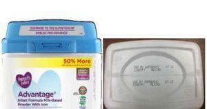Sữa bột dành cho trẻ em Parent Choice có kim loại trong sản phẩm