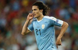 Copa America: Cavani giúp Uruguay giành ngôi nhất bảng