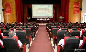 Lãnh đạo Bệnh viện Hữu nghị Đa khoa Nghệ An gặp mặt, trao đổi kinh nghiệm với các bác sỹ, dược sỹ
