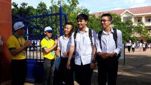 Đắk Lắk: Một thí sinh bị đình chỉ do mang điện thoại vào phòng thi