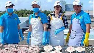Đặc sản khô biển Gành Hào