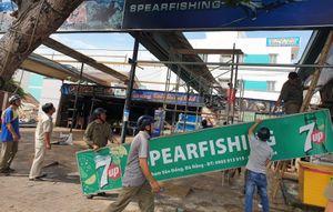 'Xóa sổ' hàng loạt nhà hàng, quán nhậu trái phép ven biển Đà Nẵng