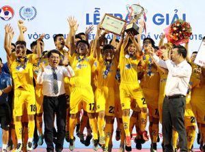 Sông Lam Nghệ An vô địch giải bóng đá U.15 Quốc gia - Next Media 2019
