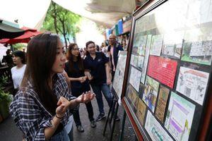 Cuối tuần đến đường sách xem ảnh và nghe kể chuyện về Sài Gòn