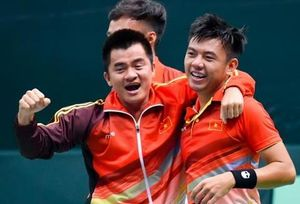 Tuyển Việt Nam được thưởng nóng sau chức vô địch Davis Cup nhóm 3