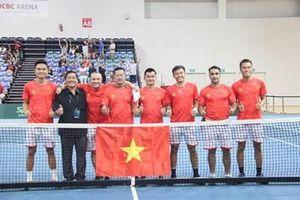 Thắng Syria 2-0, đội tuyển quần vợt Việt Nam đứng đầu Davis Cup nhóm III, châu Á-Thái Bình Dương
