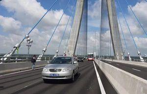 Bộ GTVT: Nhà thầu Hàn Quốc tự bỏ tiền khắc phục vết nứt cầu Vàm Cống