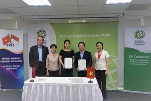SIF, Hội Hữu nghị Việt -Singapore khởi động 5 năm hợp tác mới