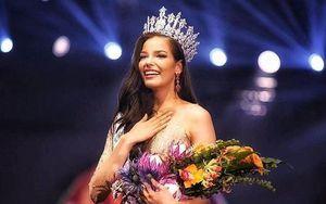 Nữ DJ cao 1,81 m giành vương miện Hoa hậu Hoàn vũ Thái Lan 2019