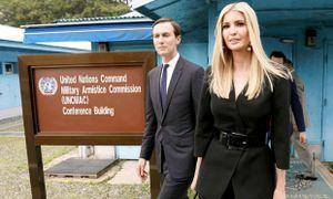 Con gái nói khoảnh khắc ông Trump bước vào Triều Tiên là 'siêu thực'