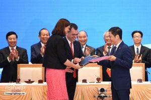 Toàn cảnh lễ ký các Hiệp định tự do thương mại và bảo hộ đầu tư giữa Việt Nam - EU