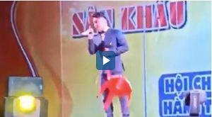 Showbiz 30/6: Du Thiên lại bị chửi bới, ném ghế khi đang diễn ở Quảng Nam