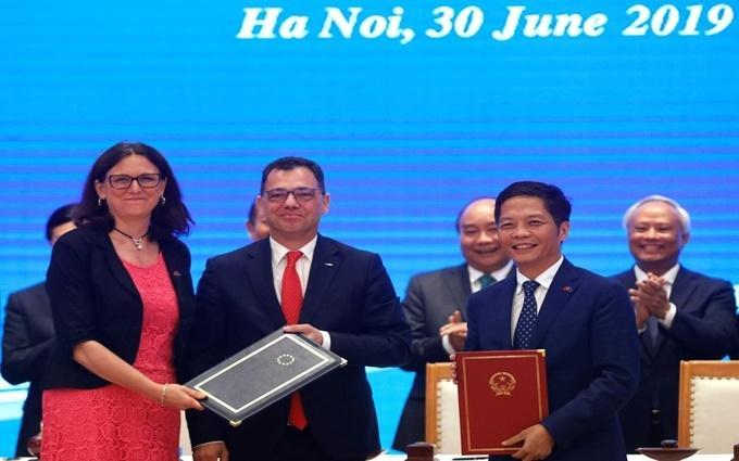 Truyền thông quốc tế đánh giá cao Việt Nam và EU ký EVFTA và EVIPA