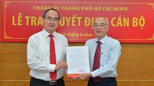 Bàn giao nhiệm vụ Trưởng ban Tuyên giáo Thành ủy TPHCM