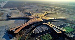 Ngắm nhìn sân bay lớn nhất thế giới ở Trung Quốc