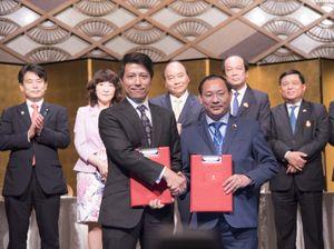 Tập đoàn TMS và Công ty Yaegaki ký kết MOU tại Hội nghị cấp cao G20